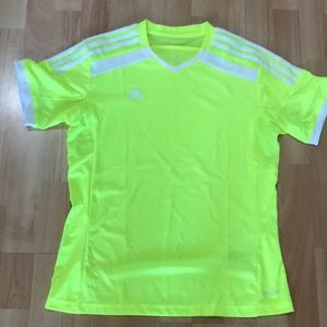 NWOT Adidas climacool soccer tee